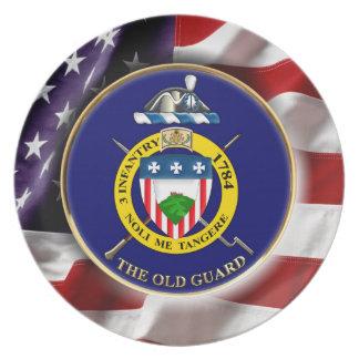 "3rd Infantry Regiment ""The Old Guard"" Melamine Plate"