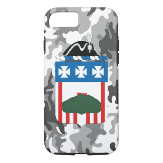 "3rd Infantry Regiment ""The Old Guard"" Urban Camo iPhone 8/7 Case"