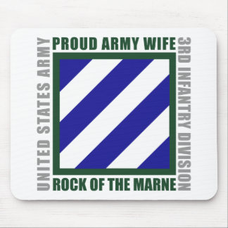 3rd Infantry Wife Mouse Pad