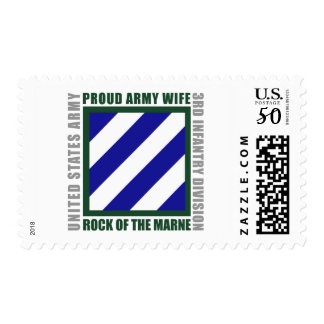 3rd Infantry Wife Postage