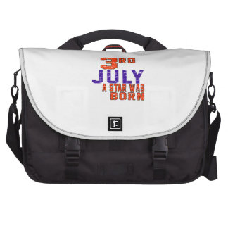 3rd July a star was born Laptop Bag
