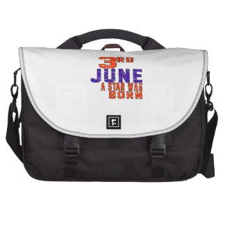 3rd June a star was born Commuter Bags