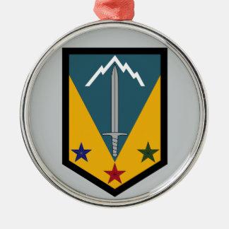 3rd Maneuver Enhancement Brigade Metal Ornament