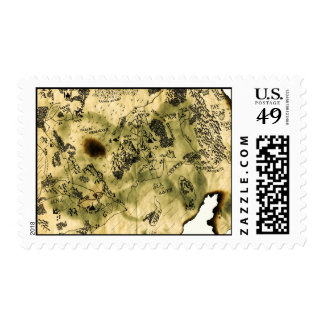 3rd Map of the Forgotten Realm Stamp