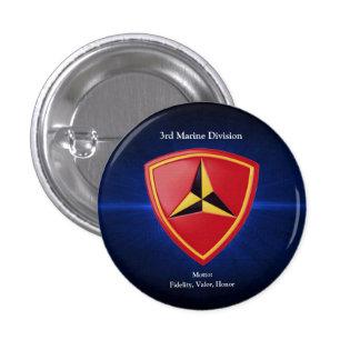 3rd Mar Div Pinback Button