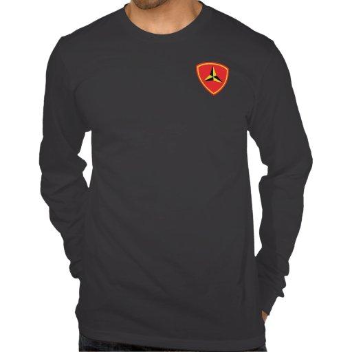 3rd Marine Division WORLD TOUR T-shirts