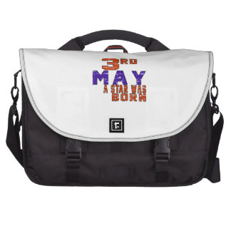 3rd May a star was born Laptop Commuter Bag