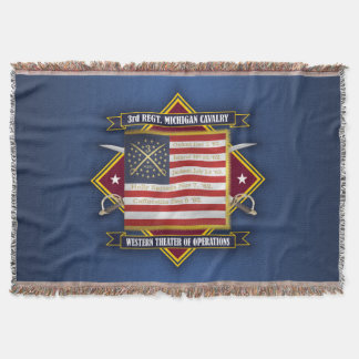 3rd Michigan Cavalry Throw