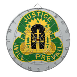 3rd Military Police Group - Justice Will Prevail Dart Board