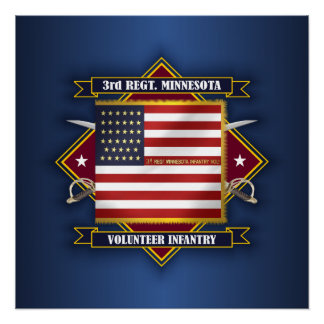 3rd Minnesota Volunteer Infantry Poster