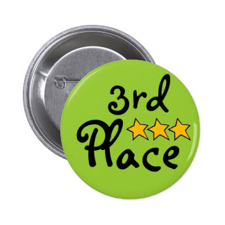 3rd Place Pinback Button
