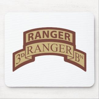 3rd Ranger Bn, Ranger Tab, Desert Mouse Pad