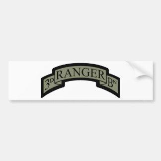 3rd Ranger Bn Scroll, ACU Bumper Sticker