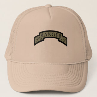 3rd Ranger Bn Scroll, ACU Trucker Hat
