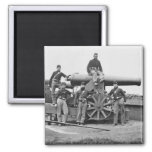 3rd Regiment, Massachusetts Heavy Artillery: 1865 2 Inch Square Magnet