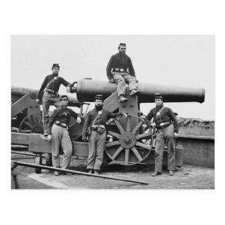 3rd Regiment, Massachusetts Heavy Artillery: 1865 Postcard