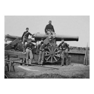 3rd Regiment, Massachusetts Heavy Artillery: 1865 Poster
