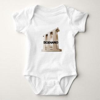 3rd Scenario new logo 6-23-11GLD Baby Bodysuit