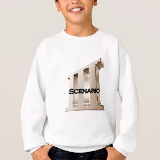 3rd Scenario new logo 6-23-11GLD Sweatshirt