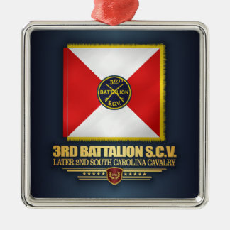 3rd SCV Cavalry Battalion Metal Ornament