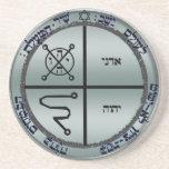 3rd seal of jupiter sandstone coaster