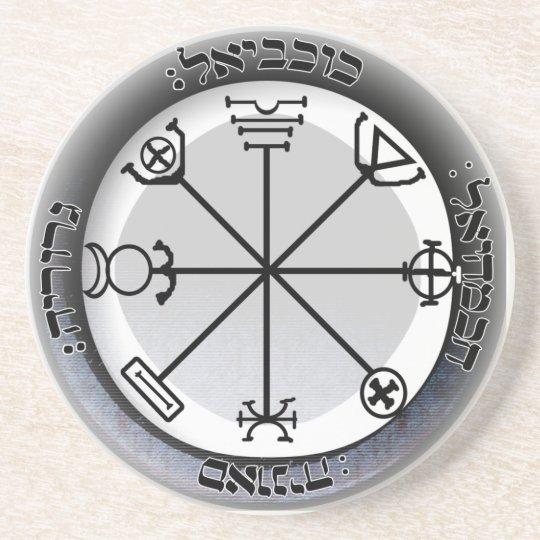 3rd seal of mercury sandstone coaster