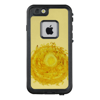 3rd-solar plexus chakra #1 yellow sunburst LifeProof FRĒ iPhone 6/6s case