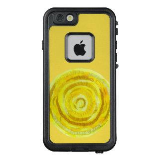3rd-solar plexus chakra #2 yellow mixed media LifeProof FRĒ iPhone 6/6s case