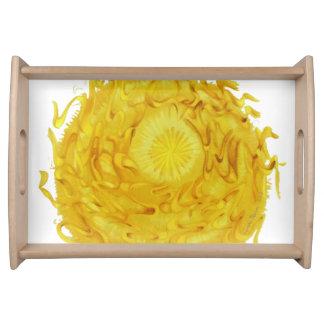 3rd-solar plexus chakra balancing artwork #1 serving tray