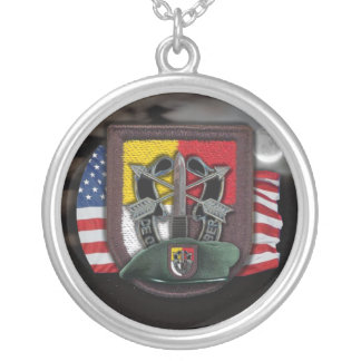 3rd Special Forces flash veterans vets Necklace