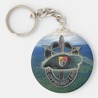 3rd special forces green berets group son Keychain