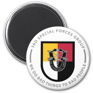 3rd Special Forces Group 2 Inch Round Magnet
