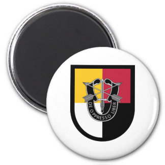 3rd Special Forces Group Flash 2 Inch Round Magnet