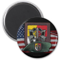 3rd special forces group flash vietnam magnet vets