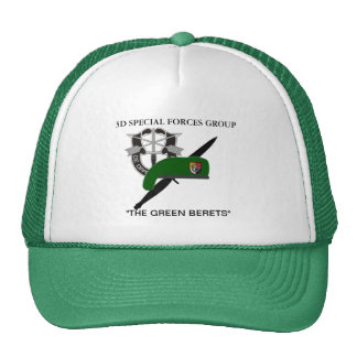 3RD SPECIAL FORCES GROUP HAT