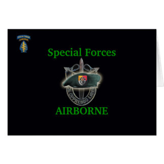 3rd special forces group iraq gulf war vets Card