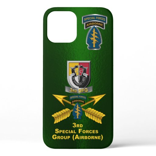 3rd Special Operations Group Airborne Customized iPhone 12 Case