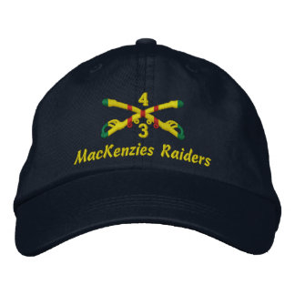 3rd Sqdn., 4th Cavalry Embroidered Hat