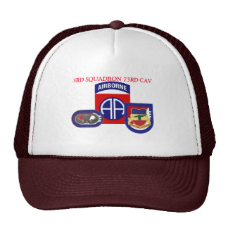 3RD SQUADRON 73RD CAVALRY HAT