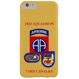 3RD SQUADRON 73RD CAVALRY iPHONE CASE