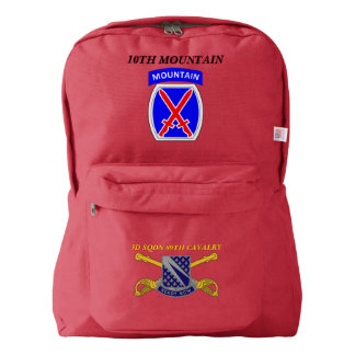 3RD SQUADRON 89TH CAVALRY 10TH MOUNTAIN BACKPACK