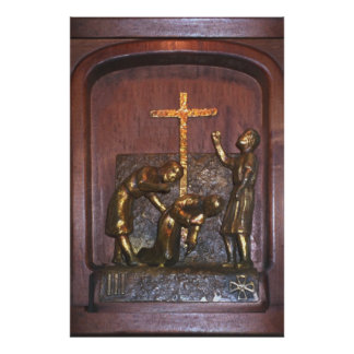 3rd Station of the Cross Posters