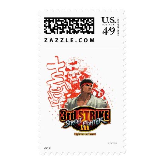 "3rd Strike ""Fight"" Postage"