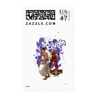 3rd Strike Rivals Postage Stamp