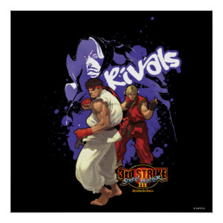 3rd Strike Rivals Poster