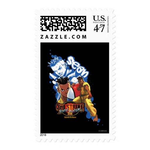 3rd Strike Sean Postage Stamp