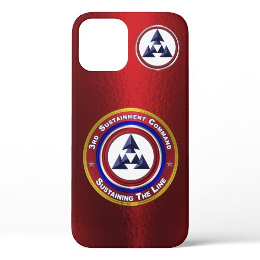 3rd Sustainment Command iPhone 12 Case