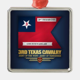 3rd Texas Cavalry Metal Ornament