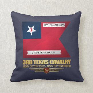 3rd Texas Cavalry Throw Pillow