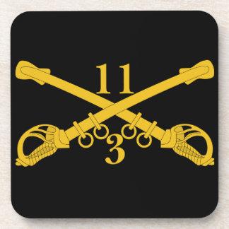 3rd Troop 11th Cavalry Regiment Coaster